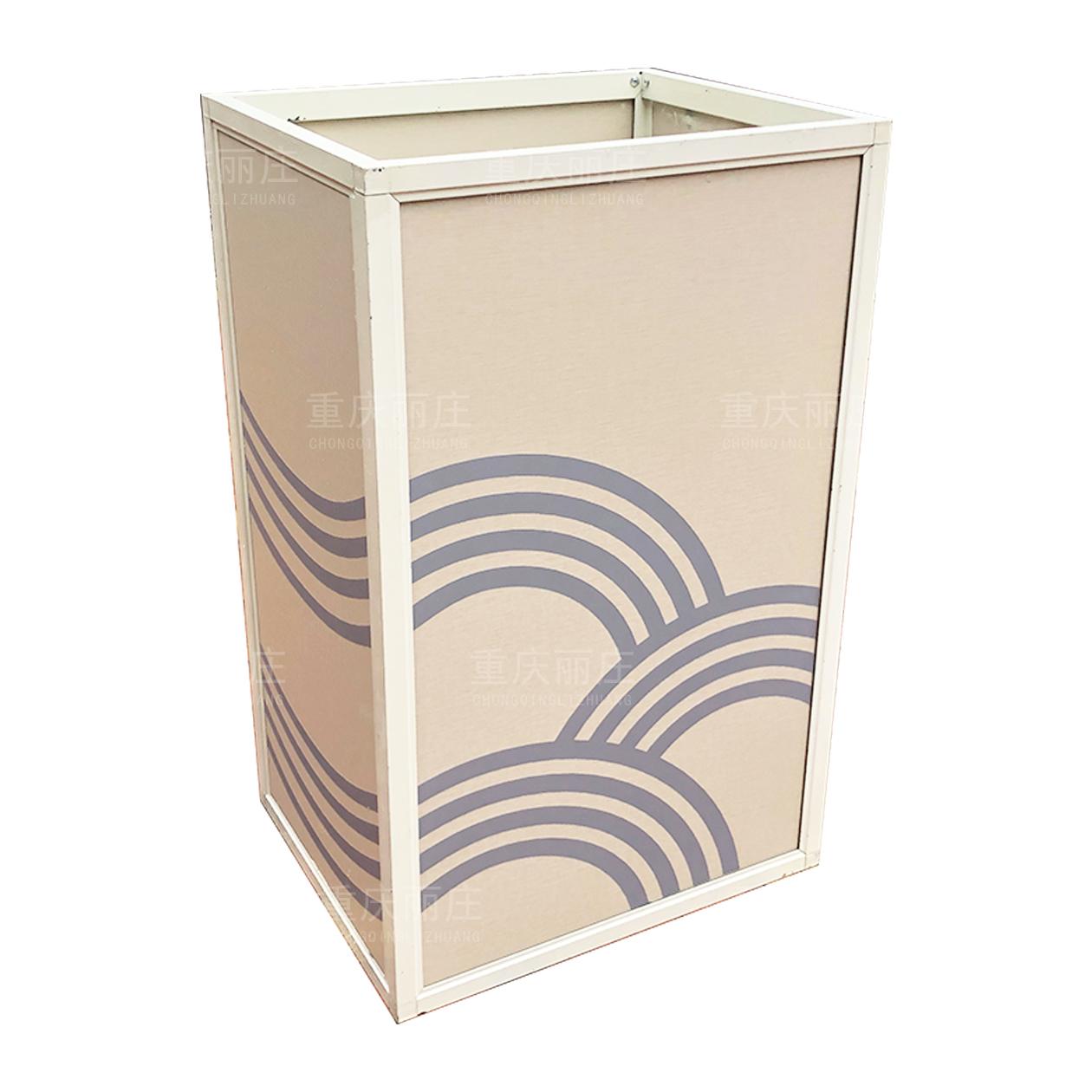 重庆丽庄铝合金花箱铝板花箱定制组合花箱定制